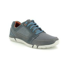Skechers Casual Shoes - Navy - 65511/417 EDMEN RISTONE