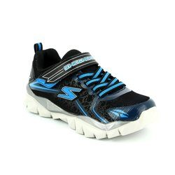 Skechers Boys Shoes - Black - 95407/970 ELECTRONZ