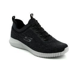 Skechers Trainers & Canvas - Black grey multi - 52642/023 ELITE FLEX