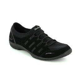 Skechers Comfort Lacing Shoes - Black - 23103 EMPRESS