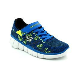 Skechers Boys Shoes - Blue - 97379/357 EQUALIZER 2
