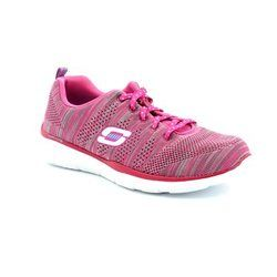 Skechers Trainers & Canvas - Pink - 12033/36 EQUALIZER MF 12033