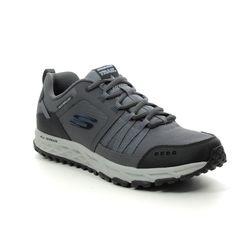 Skechers Trainers - Charcoal - 51591 ESCAPE PLAN