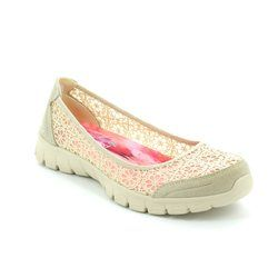 Skechers Pumps - Natural tan - 23413/141 EZ FLEX 3 PUMP