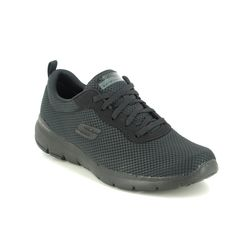 Skechers Trainers - Black - 13070 FIRST INSIGHT