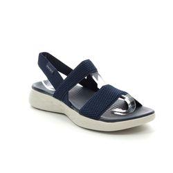 Skechers Comfortable Sandals - Navy - 15312 FLAWLESS 600