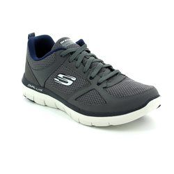 Skechers Trainers & Canvas - Charcoal - 52180/628 FLEX ADVANT 2
