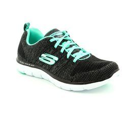 Skechers Trainers - Black - 12756/642 FLEX APPEAL 2