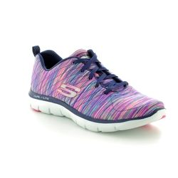 Skechers Trainers - Navy multi - 12908/934 FLEX APPEAL 2