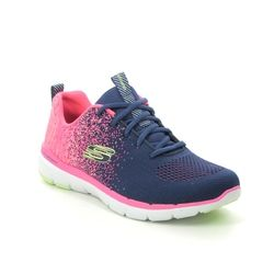 Skechers Trainers - Navy Coral - 149291 FLEX APPEAL 3.