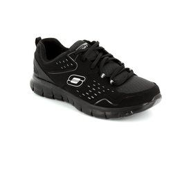 Skechers Trainers & Canvas - Black - 12013/30 FRONT ROW