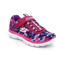 Skechers Girls Shoes - Hot pink - 81825/932 GEO GEMS