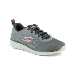 Skechers Boys Trainers - Grey - 97684 GO RUN 400