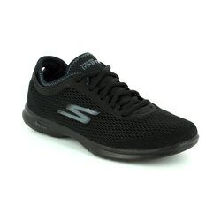 Skechers Trainers & Canvas - Black - 14211/007 GO STEP SPORT