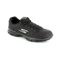 Skechers Trainers - Black - 13981/30 GO WALK 3 LACE