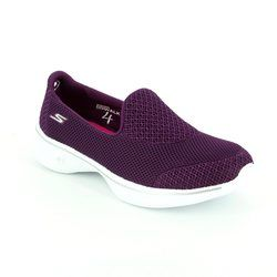 Skechers Trainers & Canvas - Dark purple - 14170/949 GO WALK 4