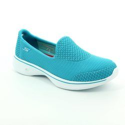 Skechers Trainers & Canvas - Turquoise - 14170/378 GO WALK 4