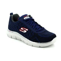 Skechers Boys Shoes - Navy multi - 97453/460 GOLDEN POINT