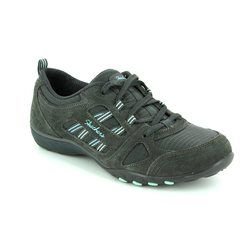 Skechers Comfort Lacing Shoes - GREY - 22544/025 GOOD LUCK
