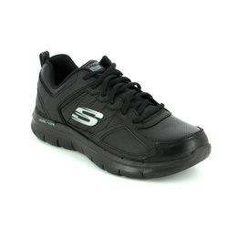 Skechers Trainers & Canvas - Black - 12755/007 GOOD TIMING