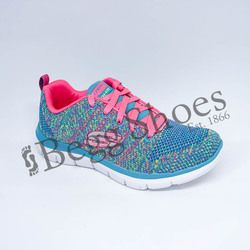 Skechers Girls Trainers - Multicoloured - 81655/484 HIGH ENERGY