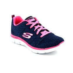 Skechers Girls Shoes - Navy - 81655/784 HIGH ENERGY