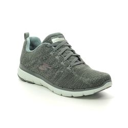 Skechers Trainers - Olive Green - 13077 HIGH TIDES FLE