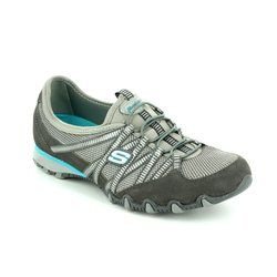 Skechers Everyday Shoes - Grey - 21159/097 HOT TICKET