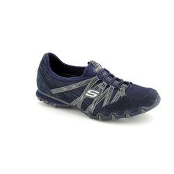Skechers Comfort Lacing Shoes - Navy - 21159/70 HOT TICKET BIK 21159