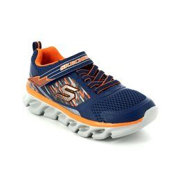 Skechers Boys Shoes - Navy - 90581/756 HYPNO FLASH