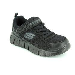Skechers Boys Shoes - Black - 97372/007 INSTANT REPLAY