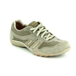 Skechers Comfort Lacing Shoes - Taupe - 22532/578 JACKPOT