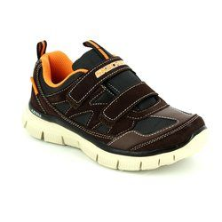 Skechers Boys Shoes - Brown - 95479/691 MASTER EXPLORE