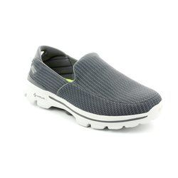 Skechers Trainers - Charcoal - 53980/00 MENS GO WALK 3