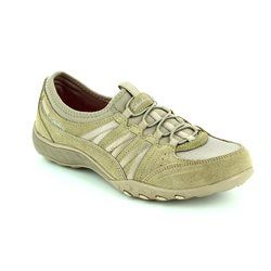 Skechers Comfort Lacing Shoes - Taupe - 23020/578 MONEYBAGS