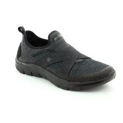Skechers Trainers - Black - 12752/007 NEW IMAGE