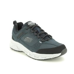 Skechers Trainers - Navy - 51893 OAK CANYON RELAXED FIT