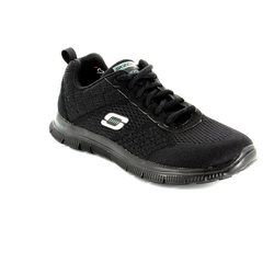 Skechers Trainers - Black - 12058/30 OBVIOUS CHOICE