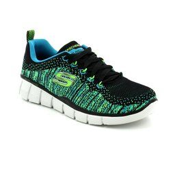 Skechers Boys Shoes - Black multi - 97370/346 PERFECT GAME