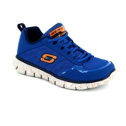Skechers Boys Shoes - Blue - 95511/77 POWER BLAST