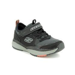 Skechers Boys Trainers - Black grey - 98131 POWER DRIFT