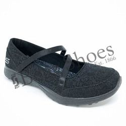 Skechers Mary Jane Shoes - Black - 23343/007 PURE ELEGANCE