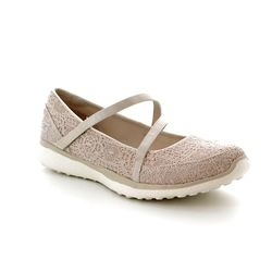 Skechers Mary Jane Shoes - Natural tan - 23343/141 PURE ELEGANCE