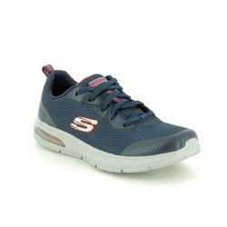 Skechers Boys Trainers - Navy - 98100 QUICK PULSE