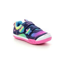 Skechers 1st Shoes & Prewalkers - Navy - 82162 RAINBOW DASH