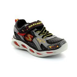 Skechers Boys Shoes - Grey - 90386/60 RAYZ 90386