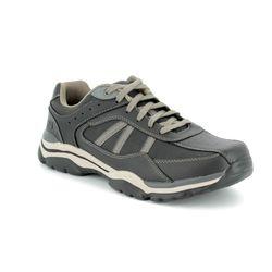 Skechers Casual Shoes - black-taupe - 65418 ROVATO TEXON