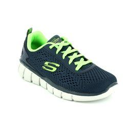 Skechers Boys Shoes - Navy multi - 97371/916 SETTLE SCORE