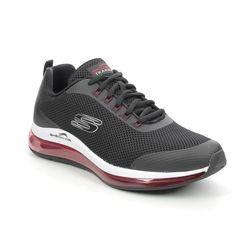 Skechers Trainers - Black-red combi - 232036 SKECH AIR 2 MENS