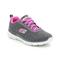 Skechers Girls Trainers - Black hot pink - 81635L SKECH APPEAL 3